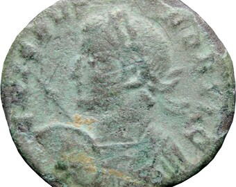 317 - 326 A.D. Roman Empire Crispus Coin AE3 London Mint