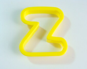 Large Plastic Letter Z Cookie Cutter