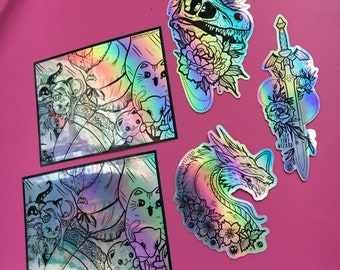 Individual Holographic Stickers