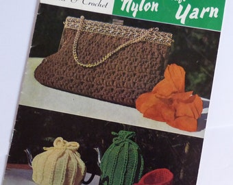 Nayart Nylon Craft Booklet . Actual Booklet