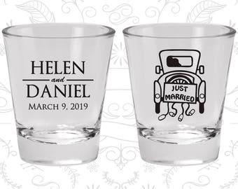 Custom Shot Glasses, Shot Glasses, Shot Glass, Wedding Favors, Wedding Shot Glasses, Personalized Shot Glasses, Custom Shot Glass (C13)