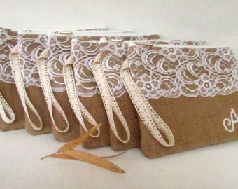 4 Personalized Clutch,wallet wedding clutch bag monogram clutch bridesmaid clutch handbag bridal clutch bridesmaid clutch purse/set of 4