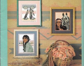 Original cross stitch chart - Southwest Serenade.  Design by Barbara Martin.  6 designs