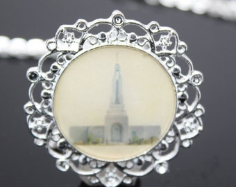 Clearance Sale!! Redlands Temple necklace, pendant or key chain. FREE SHIPPING!!