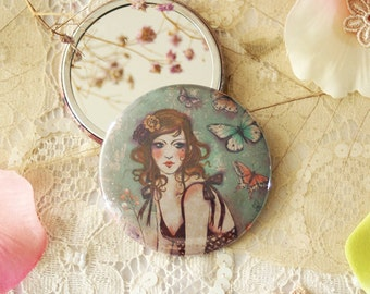 Pocket Mirror - Memories like Butterflies