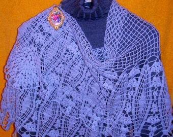 Edelweiss Lace Shawl crochet pattern pdf