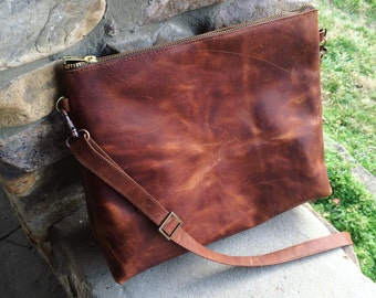 Leather Crossbody Bag, Leather Diaper Bag, Leather Bag, Leather tote, camera bag