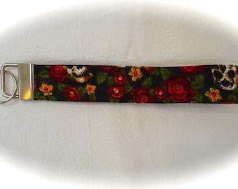 Fabric Key Chain, Key Fob Wristlet