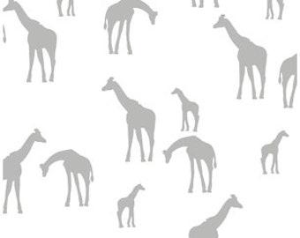 Gray Crib Sheet -Safari Nursery Bedding Giraffe /Mini Crib Sheet /Fitted Baby Sheet /Grey Changing Table Cover/ Babyletto Origami Mini Sheet
