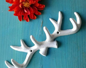Rustic Cast Iron Antlers