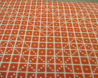 Quilting Weight Cotton Fabric by Joel Dewberry for Free Spirit Botanique Domino in Sunset 1 yard