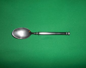 """One (1), 6 3/4"""" Stainless, Teaspoon, from Royal Doulton, in the Deco Pattern."""