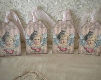 Gift Tags Victorian Angel  (4)