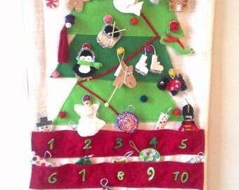 christmas Tree Advent Calender