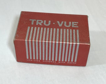 Tru-Vue Stereoscope in Box with Original Instructions and Brochure 1940s