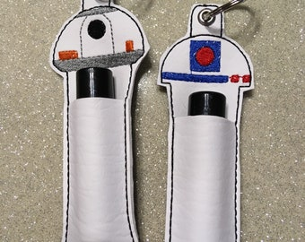Space Character lip balm holder