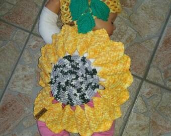 Sunflower costume for baby