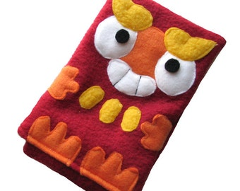 JULY PREORDER 3ds XL Case / Custom Size Pokemon Darumaka pouch carrying case new 3ds / 3ds xl / nintendo switch / psp vita holder cozy