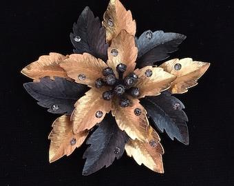 Joan Rivers Flower Brooch / Pin