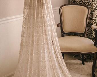Lace Veil,  Eyelash Lace Veil, Wedding Veil, Wedding Vail, Wedding Viel, Juliet Veil, Bridal Veil, Lace Bridal Veil