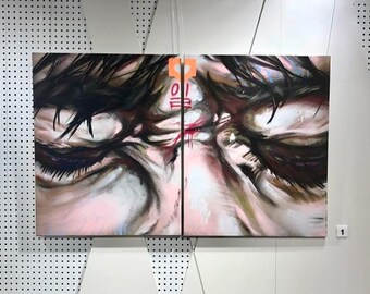Aerosol on Canvas