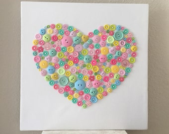 Button Love - Pastel