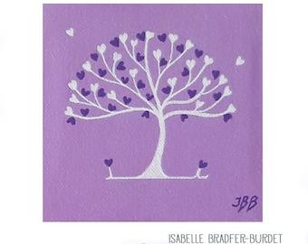 Tree of life Purple Hearts