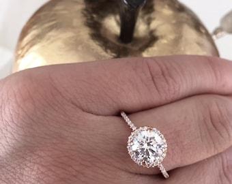 Brilliant Engagement Ring Setting