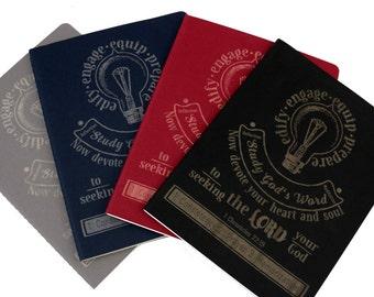 Bible Study Journal/ Notes/ Knowledge/ Devotional Journal/ Learn/ Scripture Journal/ Gift/ Custom Journal/