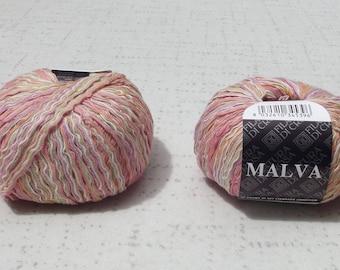 Filatura Decrosa Malva Yarn,Ribbon Yarn, Yarn Destash