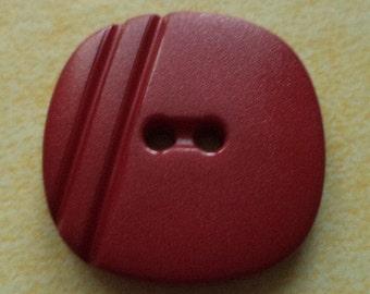 9 dark red buttons 22mm (1313) button Red