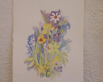 Summer Flower Bouquet Vintage