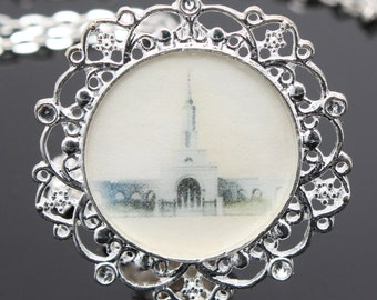 Sale!!  Sacramento Temple necklace, pendant, key chain or locket. FREE SHIPPING!!!