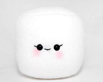 Marshmallow Plush-Squishy-Kawaii- White-Toy-Marshmallow-Gift-Home Decor-Food Plush-Geek-Christmas Gift-Food Plush