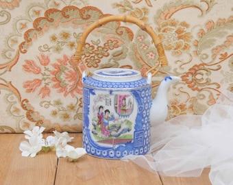 Old chinese teapot / Vintage china teapot