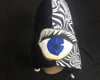 Reversible Psychedelic Eye Hood