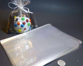 "Clear Polypropylene 'Cellophane' Favor Treat Bags 7 x 10"""