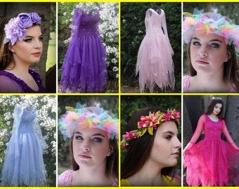 Adult Fairy Halloween Costume ~ Renaissance  Faire  Costume  ~ Theatre ~ Batcholette Party ~ Hens Night ~ Masquerade ~ Sweet 16 ~ Steampunk