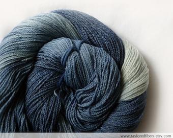 Super wash Merino Bamboo Nylon Yarn Hand Dyed (APA637)