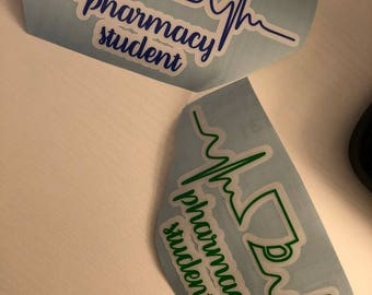 Pharmacy Student Decal