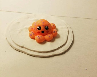 Cold Porcelain Baby Octopus