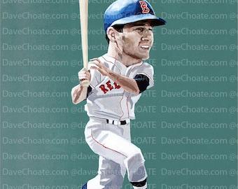 Carl Yastrzemski, Boston Red Sox Art Photo Print