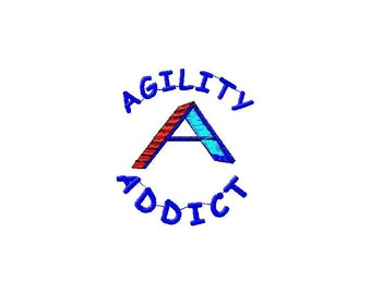 Dog Agility tee Shirt - Agility Addict without Tunnel