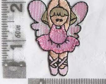 Ballet fairy iron on patch