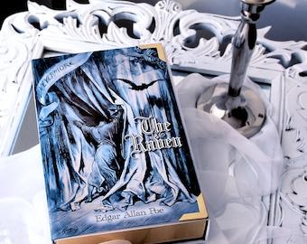 Book Clutch THE RAVEN Edgar Allan Poe (customizable)