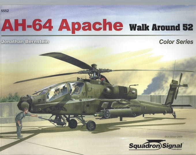 AH-64 Apache - Walk Around 52 (Paperback)