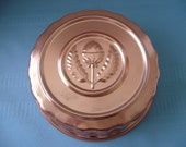Copper Jello Mold