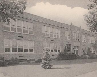 Postcard of: High School in Tunkhannock PA