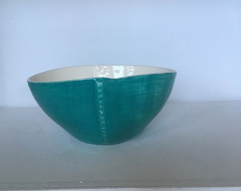 Ceramic bowl hand made - Collection Haute Couture