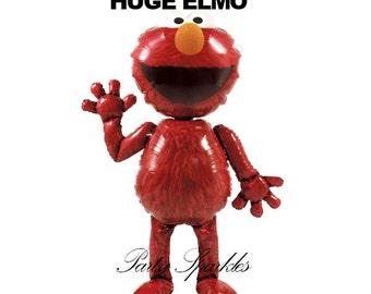 """54"""" Elmo Giant Balloon Airwalker BIrthday Party, Elmo Balloon, Foil Balloon, Elmo Airwalker"""